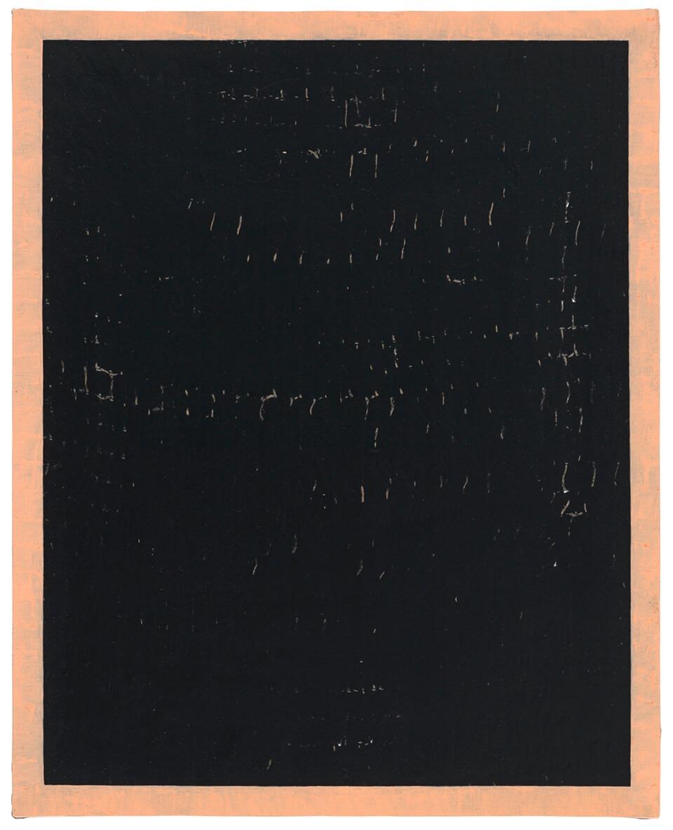 Sabrina Fritsch painting kyPa,f 2014 Oil Acrylic on hessian on canvas 35x28cm